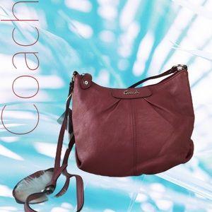 COACH Ashley Leather Swingpack Crossbody Bag